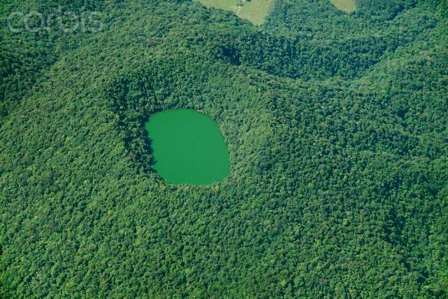 Costa Rica --- Laguna Cerro Chato, Costa Rica --- Image by © Mario Castello/Corbis