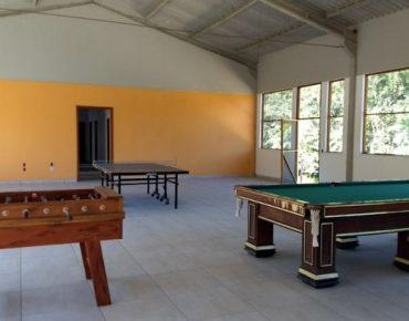 Área de convivência Alojamento Fazenda Plathymenia Biovert