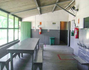 Refeitório Alojamento Santa Cruz Biovert