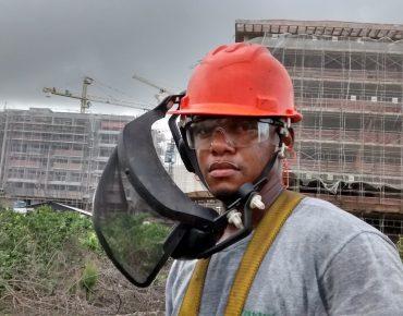 Segurança do Trabalho e Saúde Biovert - equipe em campo com EPI